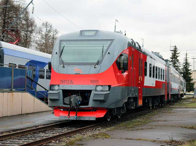 Электропоезд ЭП2Д