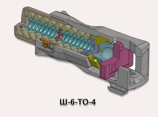 Поглощающий аппарат Ш-6-TO-4