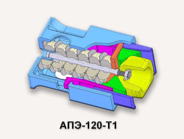 Поглощающий аппарат АПМ-120-Т1
