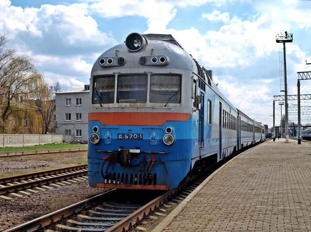 Дизель поезд Д1